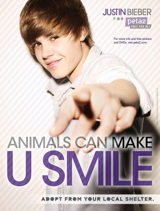 Justin-Bieber-Peta-Poster