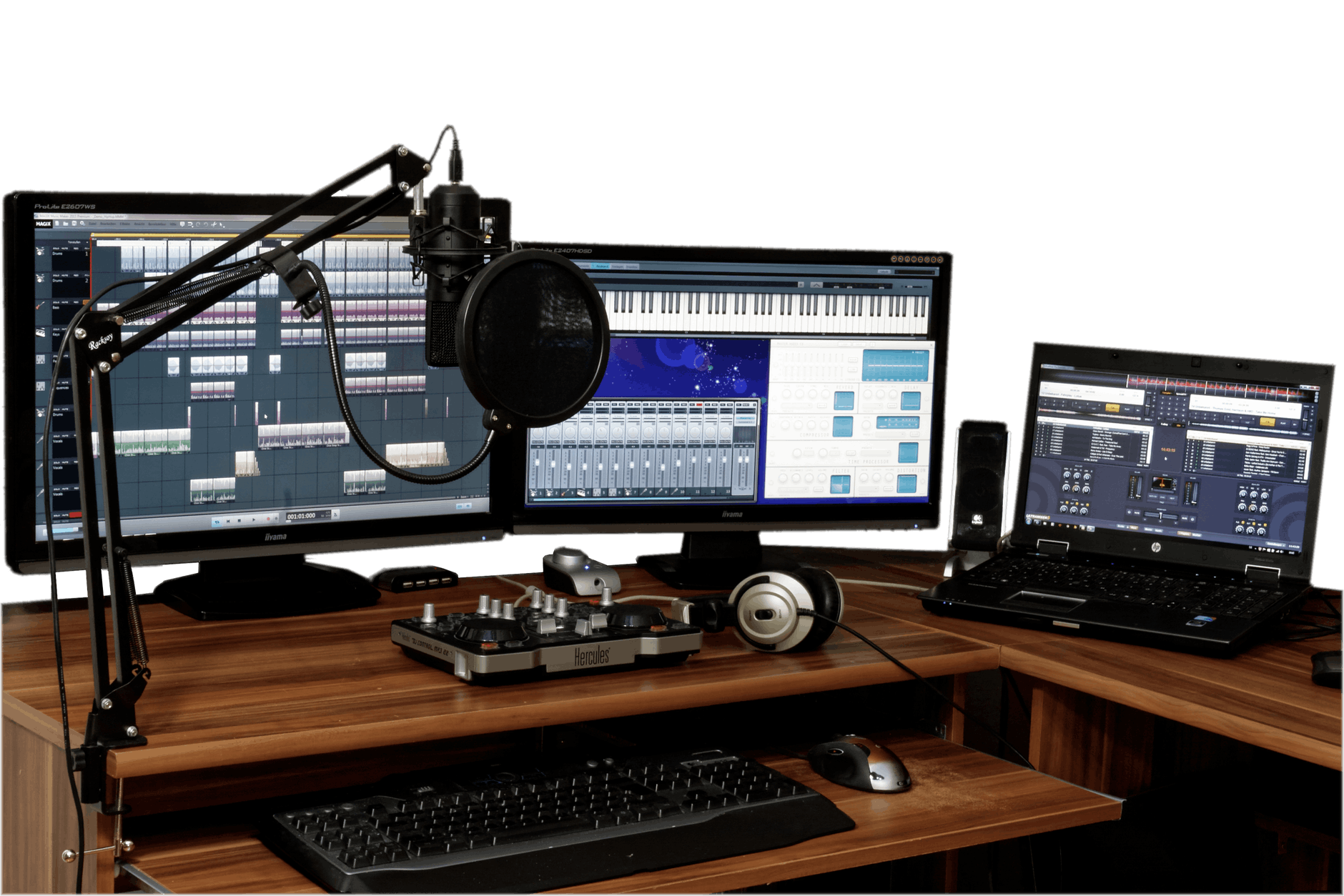 audio business computer connection